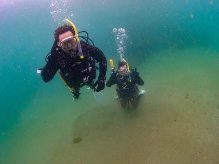 3月最後の体験ダイビング