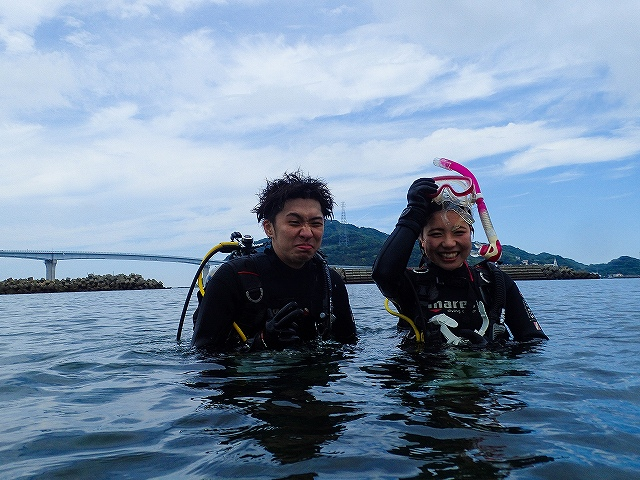 地元民と水中世界を楽しんできましたよ