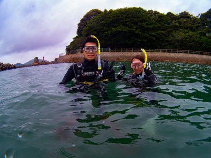 復活ダイバーと海怖がりさんとGo Dive!